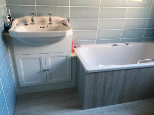 Flawless bathroom idea with a tub, bathroom concept