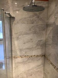 Flawless shower by home improvements company