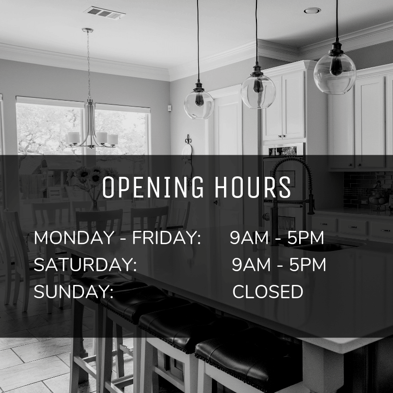 Opening Hours - Flawless Kitchen & Bathrooms, home improvements