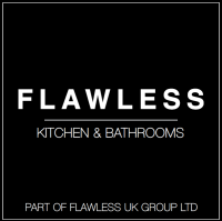 Flawless Kitchen & Bathrooms Logo, home improvements in the UK